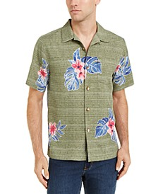 Men's Blooms Adrift Classic-Fit IslandZone Moisture-Wicking Temperature-Regulating Floral-Print Camp Shirt