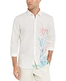 Men's Bardez Blooms Classic-Fit Stretch Floral-Print Shirt
