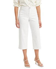 Levi's® Women's Wide-Leg Cropped Jeans