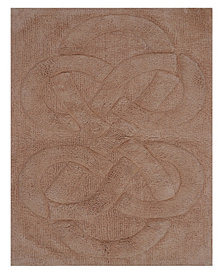 """Perthshire Platinum Collection Tuft Twisted 20"""" x 30"""" Bath Rug"""
