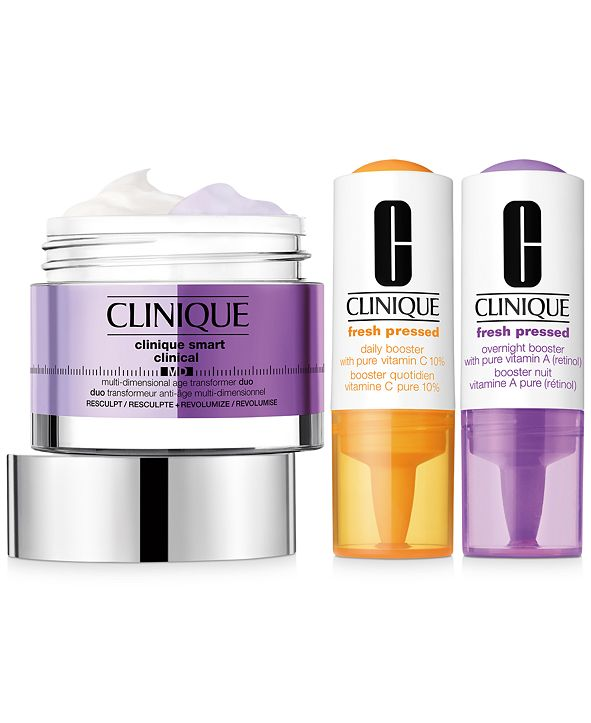 Clinique 3-Pc. Skincare Specialists Set - Resculpt & Revolumize