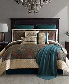 Astrom 14-Pc. Queen Comforter Set