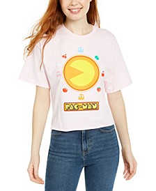 Juniors' Pac-Man Graphic T-Shirt