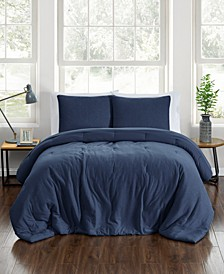 CLOSEOUT! Jersey 3-Pc. Comforter Sets