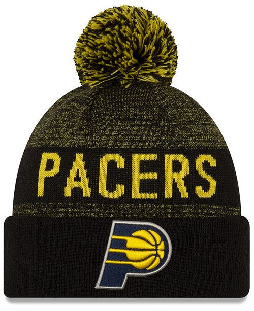New Era Indiana Pacers Blackout Speckle Knit Hat
