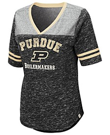 Women's Purdue Boilermakers Mr Big V-neck T-Shirt
