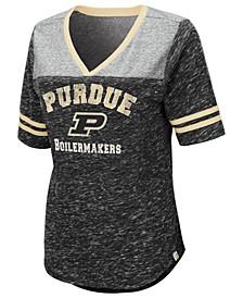 Women's Purdue Boilermakers Mr Big V-neck T-Shirt