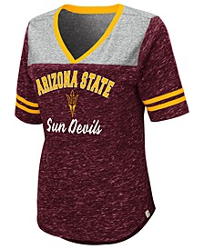 Women's Arizona State Sun Devils Mr Big V-neck T-Shirt
