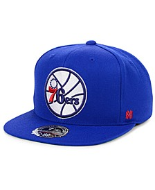 Philadelphia 76ers Hardwood Classic Patch Fitted Cap