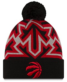 Toronto Raptors Big Flake Pom Knit Hat