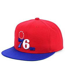 Philadelphia 76ers Wool 2 Tone Snapback Cap