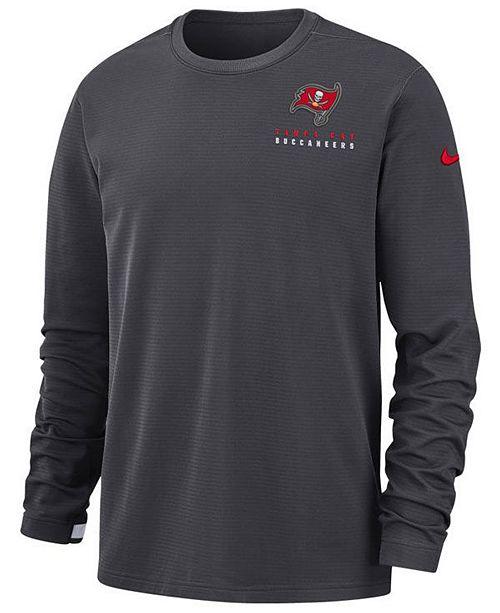 Nike Men's Tampa Bay Buccaneers Dry Top Crew Sweatshirt