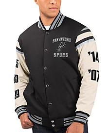 Men's San Antonio Spurs Victory Formation Commemorative Varsity Jacket