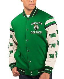 Men's Boston Celtics Victory Formation Commemorative Varsity Jacket