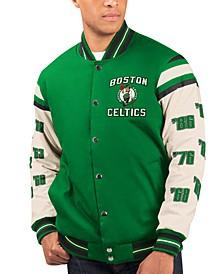 Men's Boston Celtics Victory Formation Commemorative Varsity Jacket
