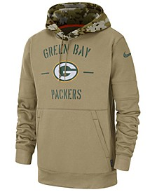 Men's Green Bay Packers Salute To Service Therma Hoodie