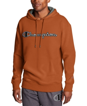 Champion Tops MEN'S POWERBLEND LOGO FLEECE HOODIE