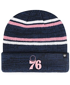 Philadelphia 76ers Marled Stripe Cuff Knit Hat