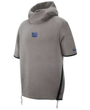 Nike Men's New York Giants Player Repel Short Sleeve Hoodie