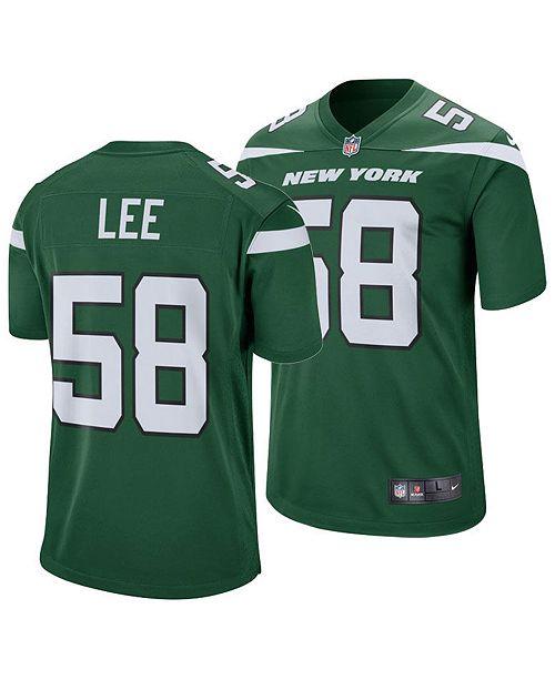 Nike Men's Darron Lee New York Jets Game Jersey