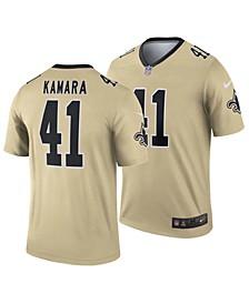 Men's Alvin Kamara New Orleans Saints Inverted Color Legend Jersey