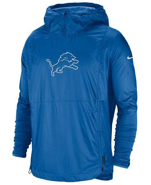 Nike Men's Detroit Lions Repel Lightweight Player Jacket