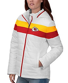 Women's Kansas City Chiefs Tie Breaker Polyfill Jacket