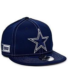 Little Boys Dallas Cowboys On-Field Sideline Road 9FIFTY Snapback Cap