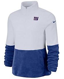 Women's New York Giants Half-Zip Therma Fleece Pullover