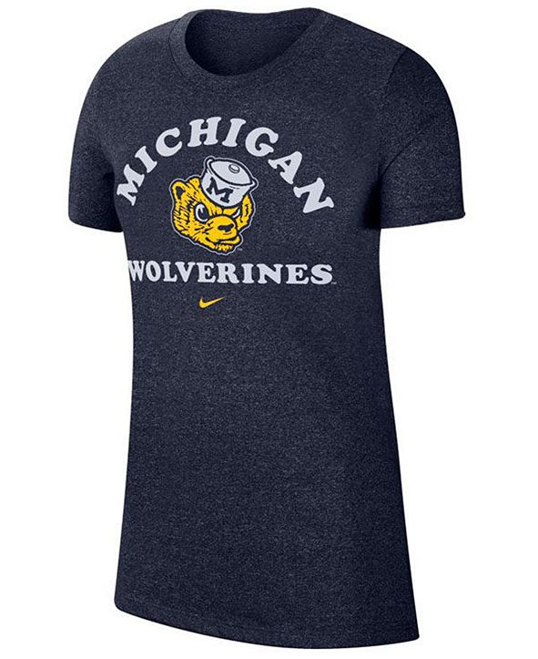 Nike Women's Michigan Wolverines Marled T-Shirt