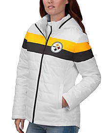 Women's Pittsburgh Steelers Tie Breaker Polyfill Jacket