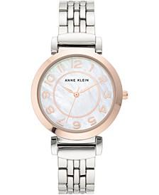 Women's Two-Tone Bracelet Watch 34mm