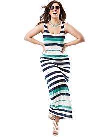 Destination Summer Style Plus Size Maxi Dress Seaside Chic Look