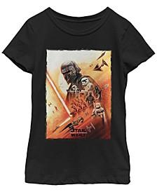 Big Girls Kylo Ren Lightsaber Poster Short Sleeve T-Shirt