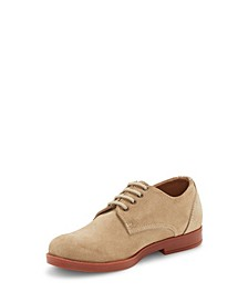 Little and Big Boys Classic Tie Oxford Lace Up Dress Shoe