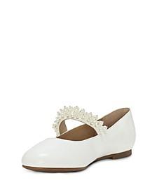 Little Girls Dress Open Toe Strap Shoe