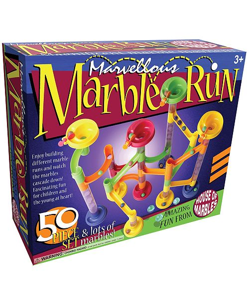 House of Marbles Marvellous Marble Run - 50 Piece Set