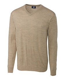 Cutter and Buck Men's Big and Tall Douglas V-Neck Sweater