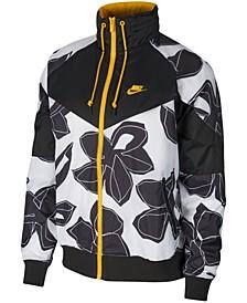 Men's Sportswear Windrunner Floral-Print Jacket