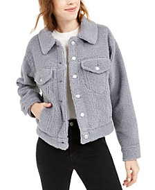 Faux Sherpa Trucker Jacket
