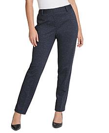 DKNY Knit Straight-Leg Dress Pants