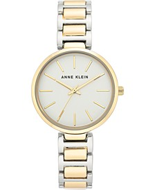 Women's Two-Tone Bracelet Watch 34.5mm