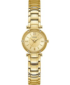 Women's Gold-Tone Stainless Steel Bracelet Watch 25mm