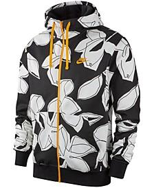 Men's Sportswear Floral-Print Hoodie