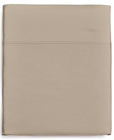 Supima Cotton 825-Thread Count Extra Deep Queen Flat Sheet, Created for Macy's