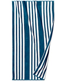 "Resort Cabana Cotton 40"" x 70"" Beach Towel, Created for Macy's"
