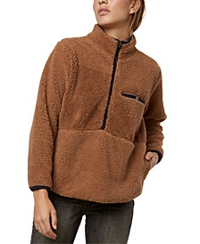 Juniors' Sutton Fleece Pullover Jacket
