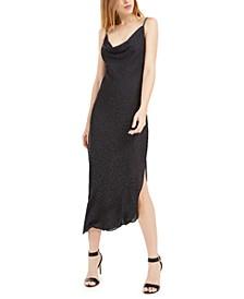 Leopard Print Midi Slip Dress, Created For Macy's
