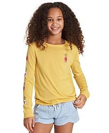 Big Girls Pineapple Heart T-Shirt