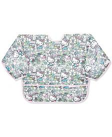 Hello Kitty-Print Waterproof Sleeved Bib